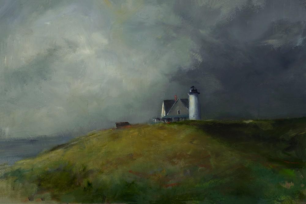 Sandy Neck Light House 24 x 36
