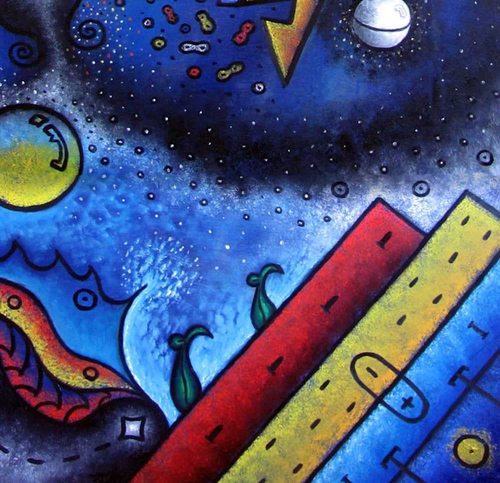 Elements and Dreamscapes (detail 2)