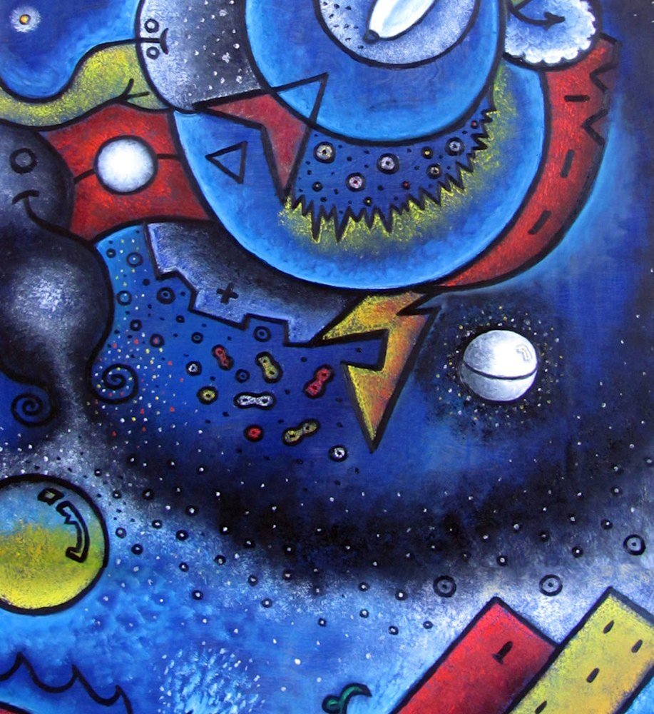 Elements and Dreamscapes (detail 3)