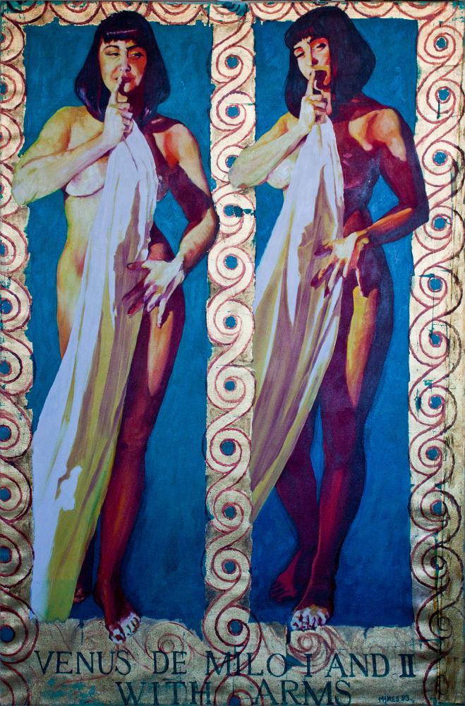 Venus De Milo I and II with Arms