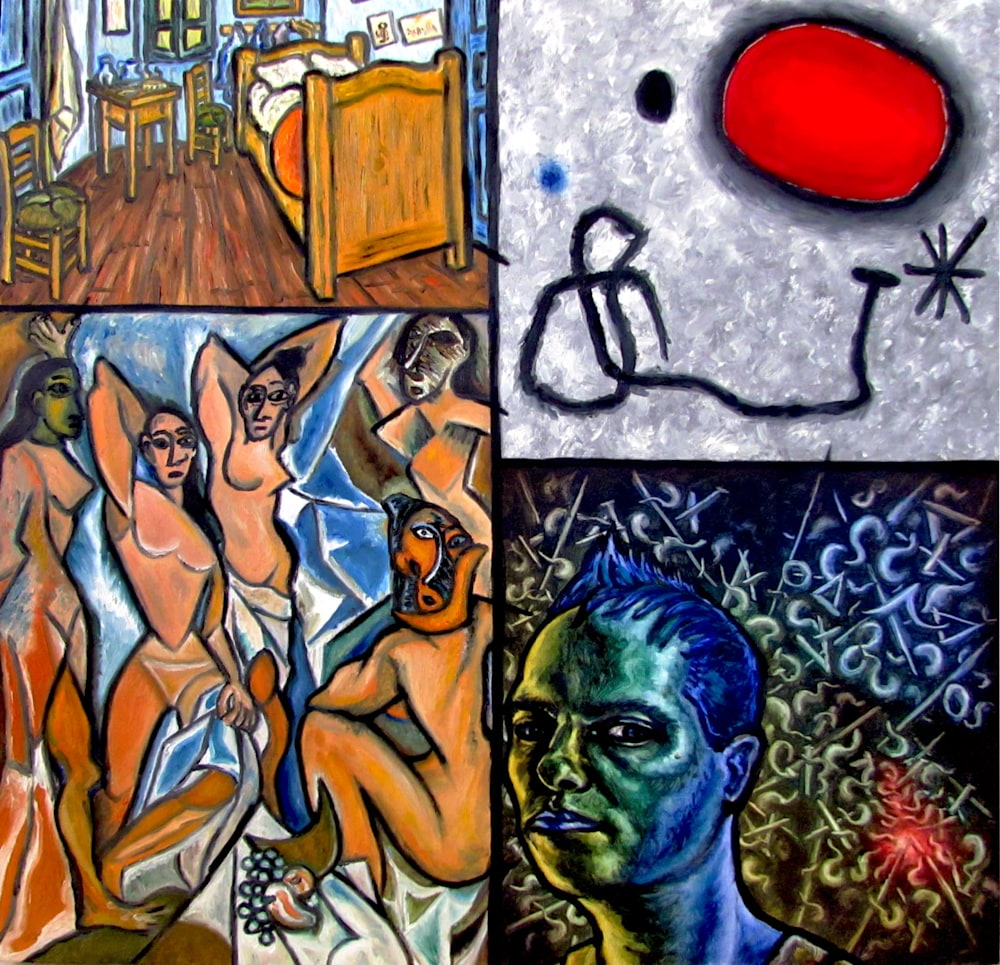 Van Gogh Miro Picasso and Presto (smaller)