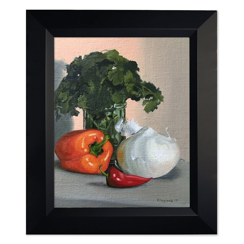 abbey fitzgerald salsa painting frame