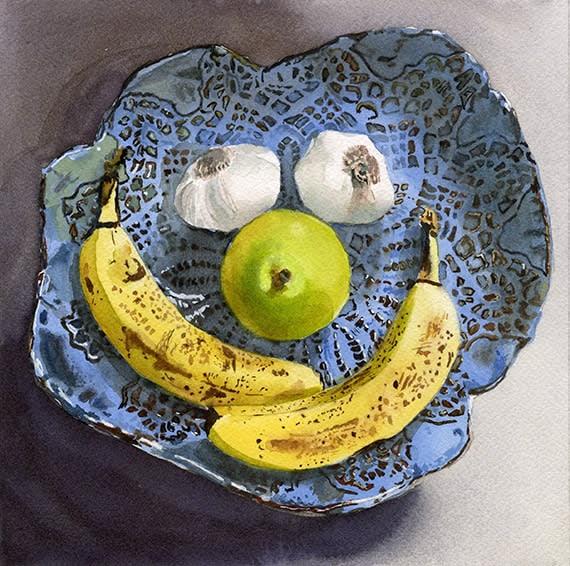 Happy Fruit 5 ETSY