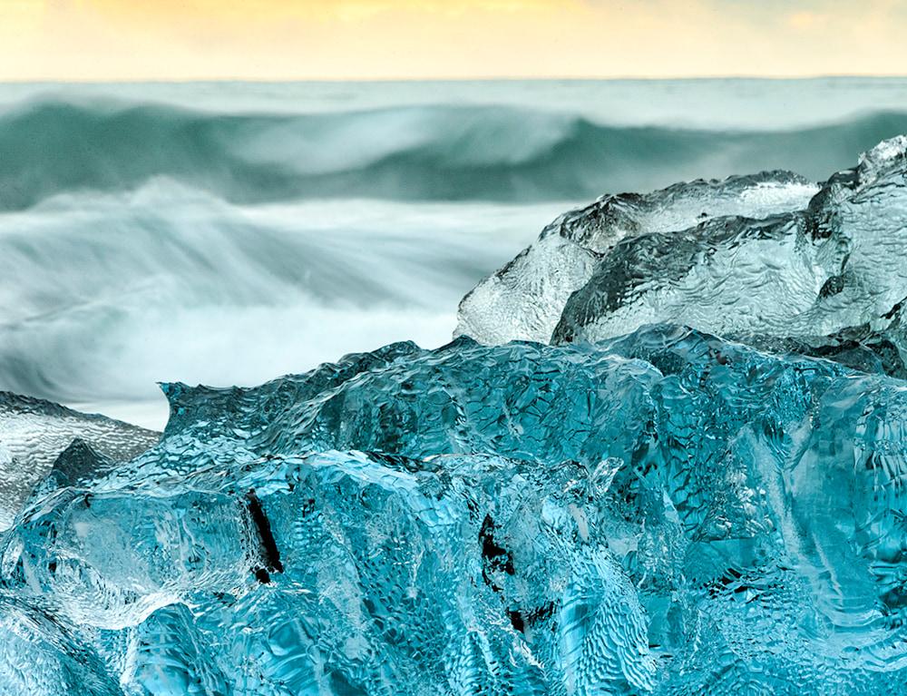 October Glacier Ice