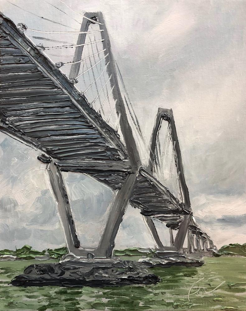 Ravenel Bridge from the Waterfront Park