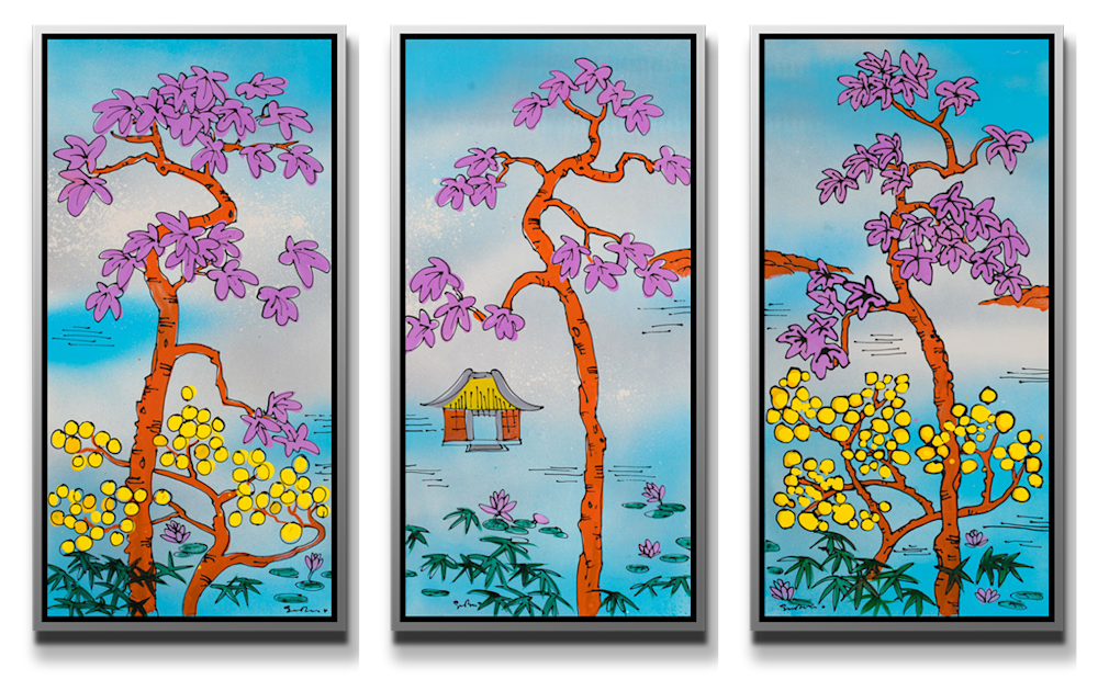 Floating World TRIPTYCH