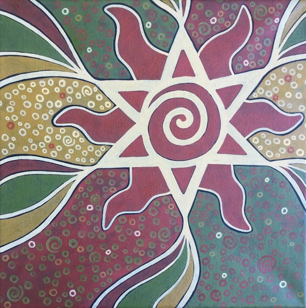 Sandy Wade mural design