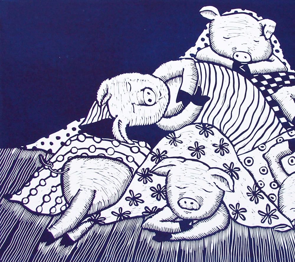 Pigs in blankets navy left