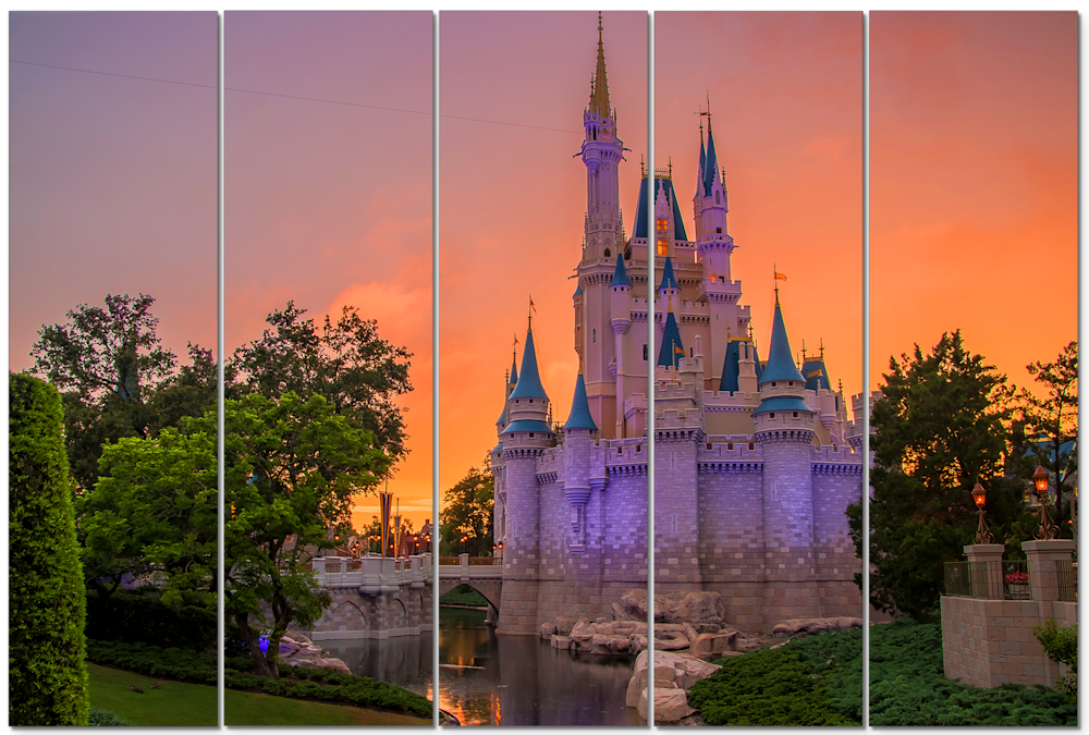 Cinderella's Castle Sunset