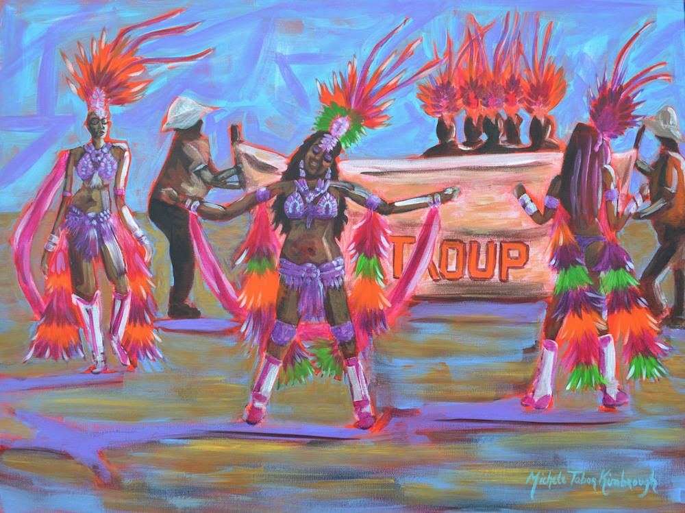 Troup Dancers   Crucian Carnival Series