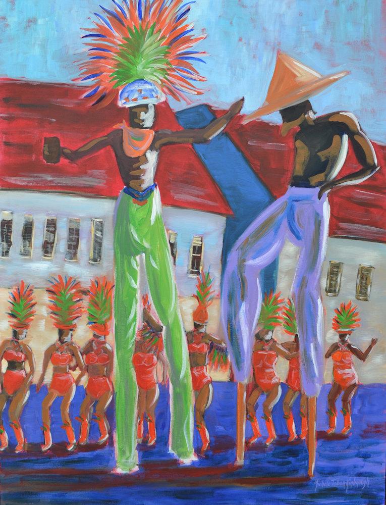 Moko Jambie   Crucian Carnival Series