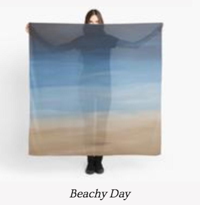 Beachy Day scarf