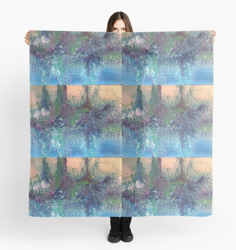 Nature's Reflection Scarf