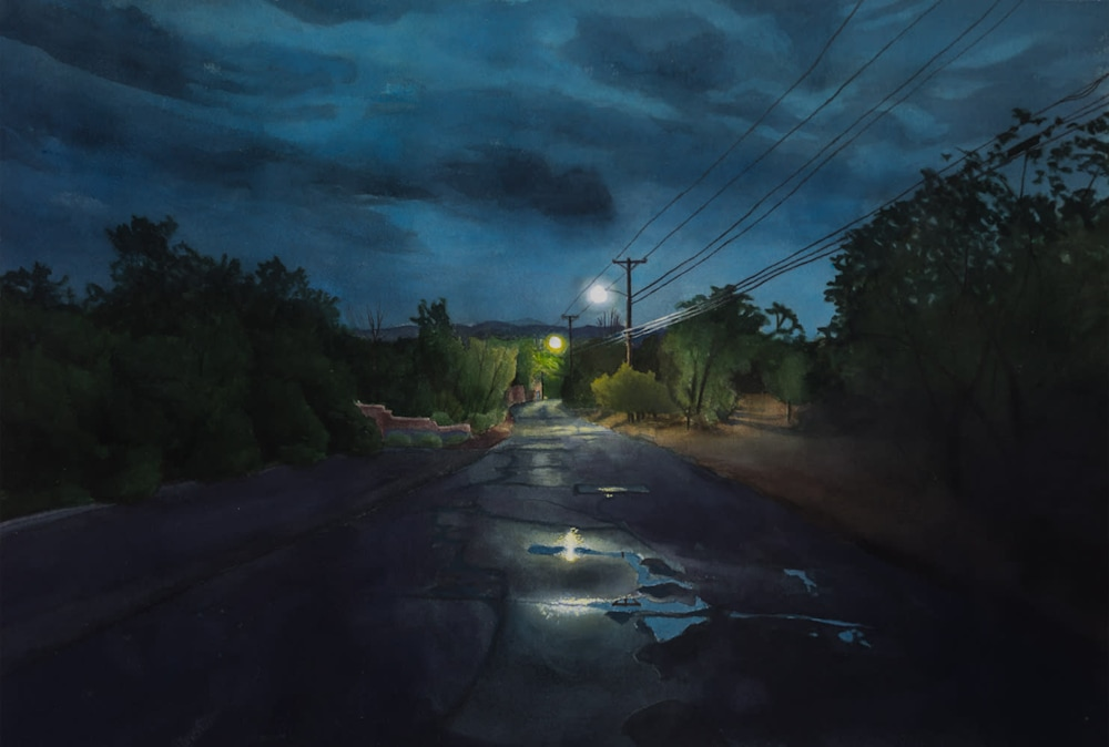 Nocturne, Upper Canyon Road