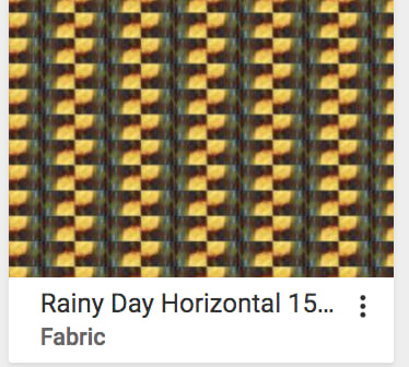 Rainy Day Sun Fabric