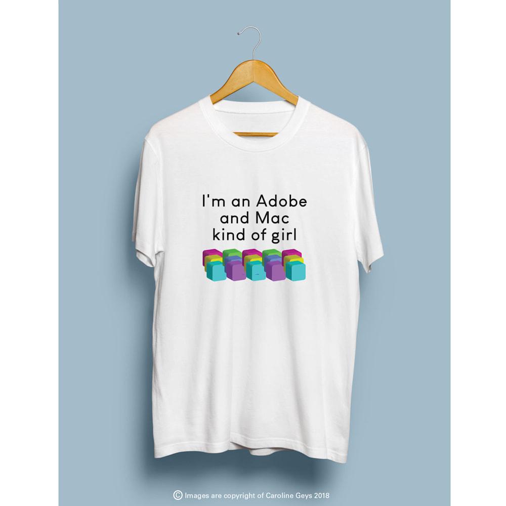 I'm an Adobe and Mac kind of girl