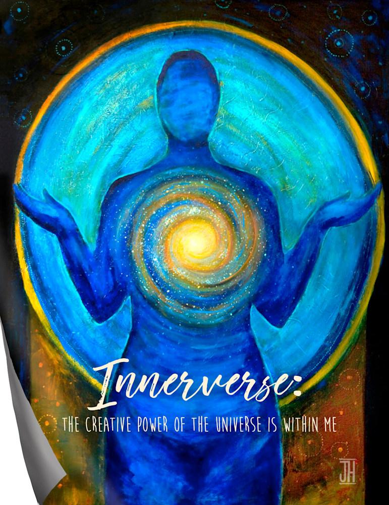 Innerverse affirmation magnet
