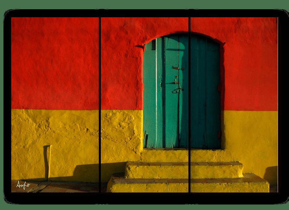 triptych nic door