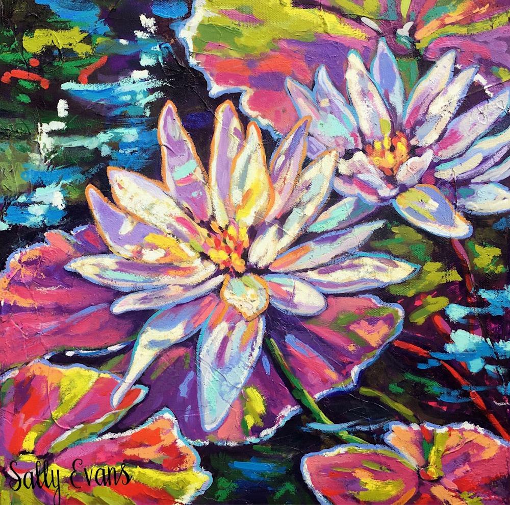 Mc Kee Lilies Dance in Light