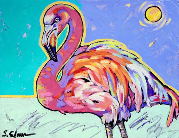 Flamingo Dances under the sun2 web