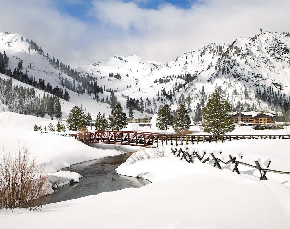 Winter Morning Squaw Valley
