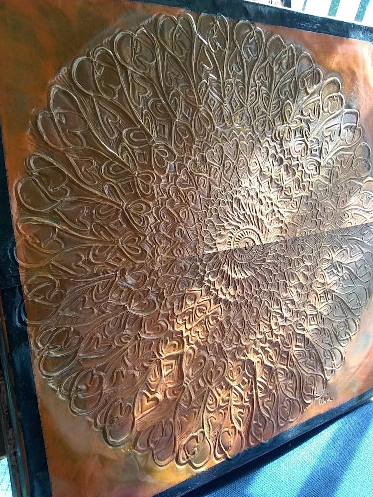 A Tribal Mandala in Rust #3