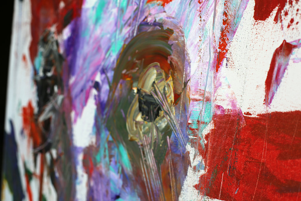 AbstractBison5Original Detail1