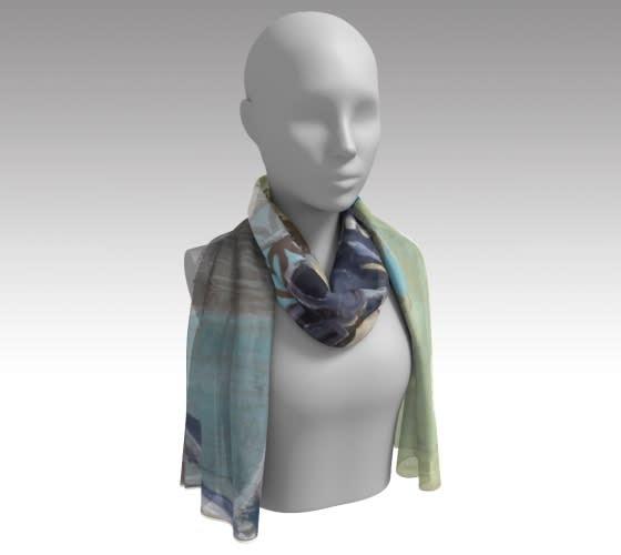 delicate rain scarf