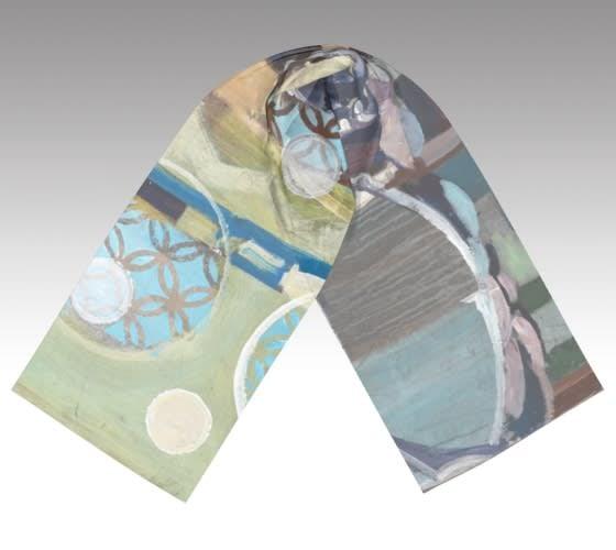 delicate rain scarf flat