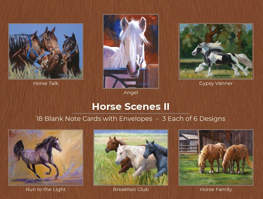 HorseScenes II  Cards