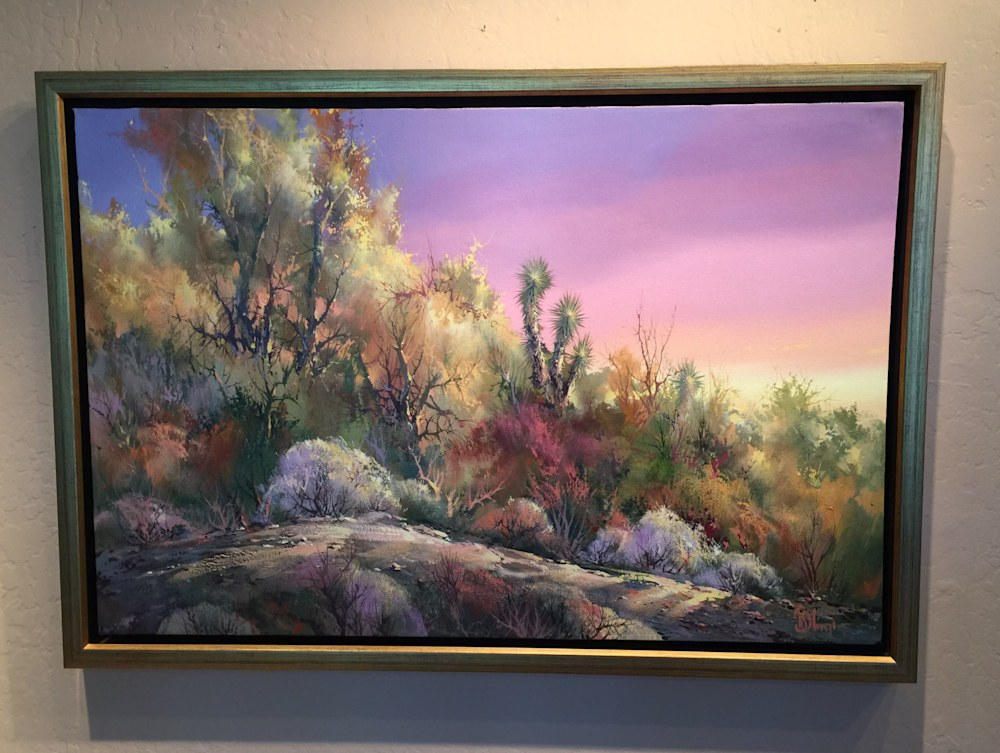 IMG 0389 (002) Desert Feast Framed