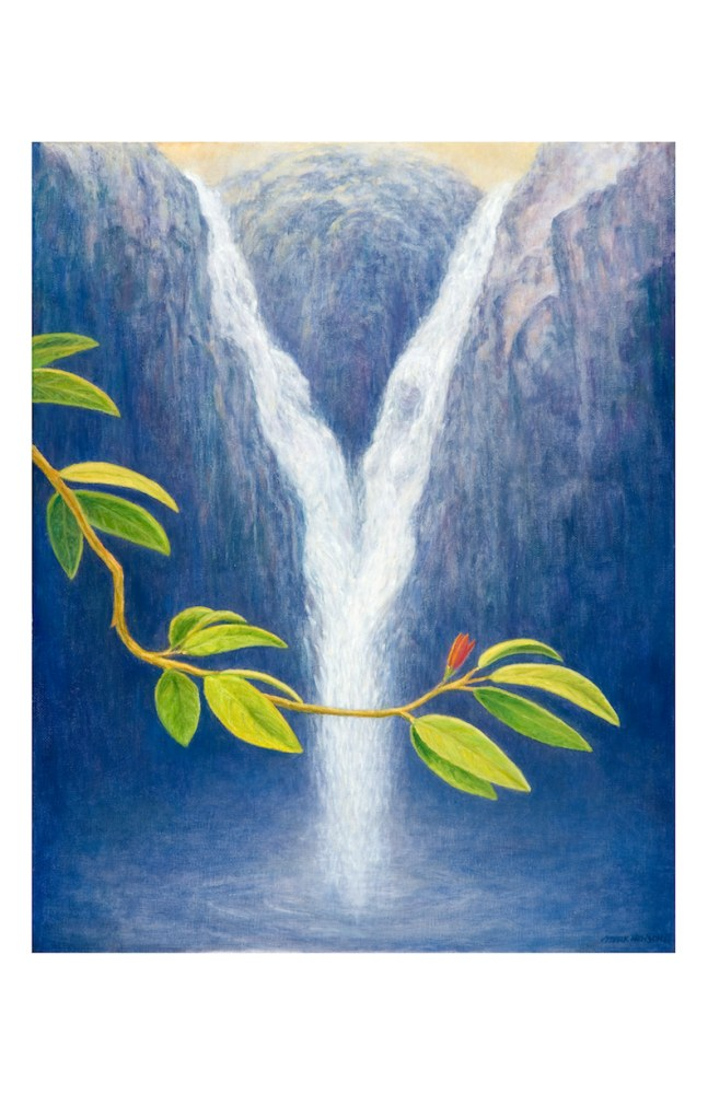 Waterfall notecard
