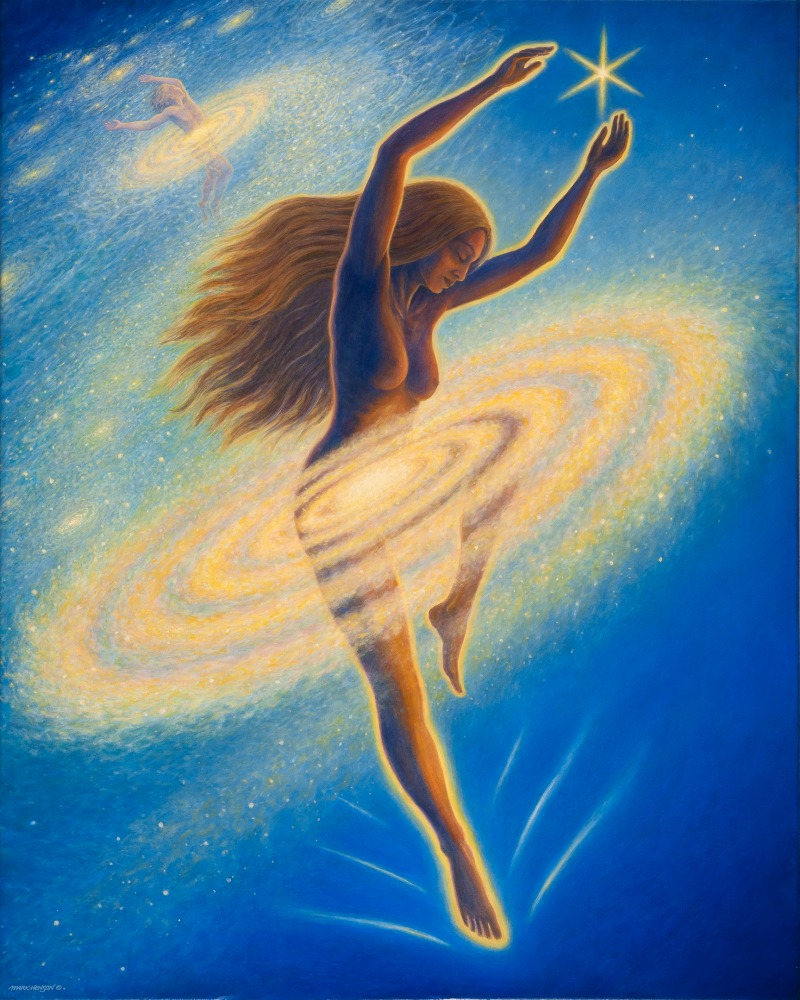 Dancing Across the Universe giclee
