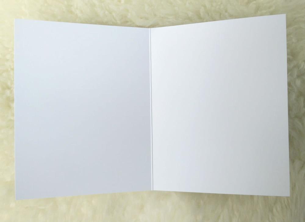 inside blank card