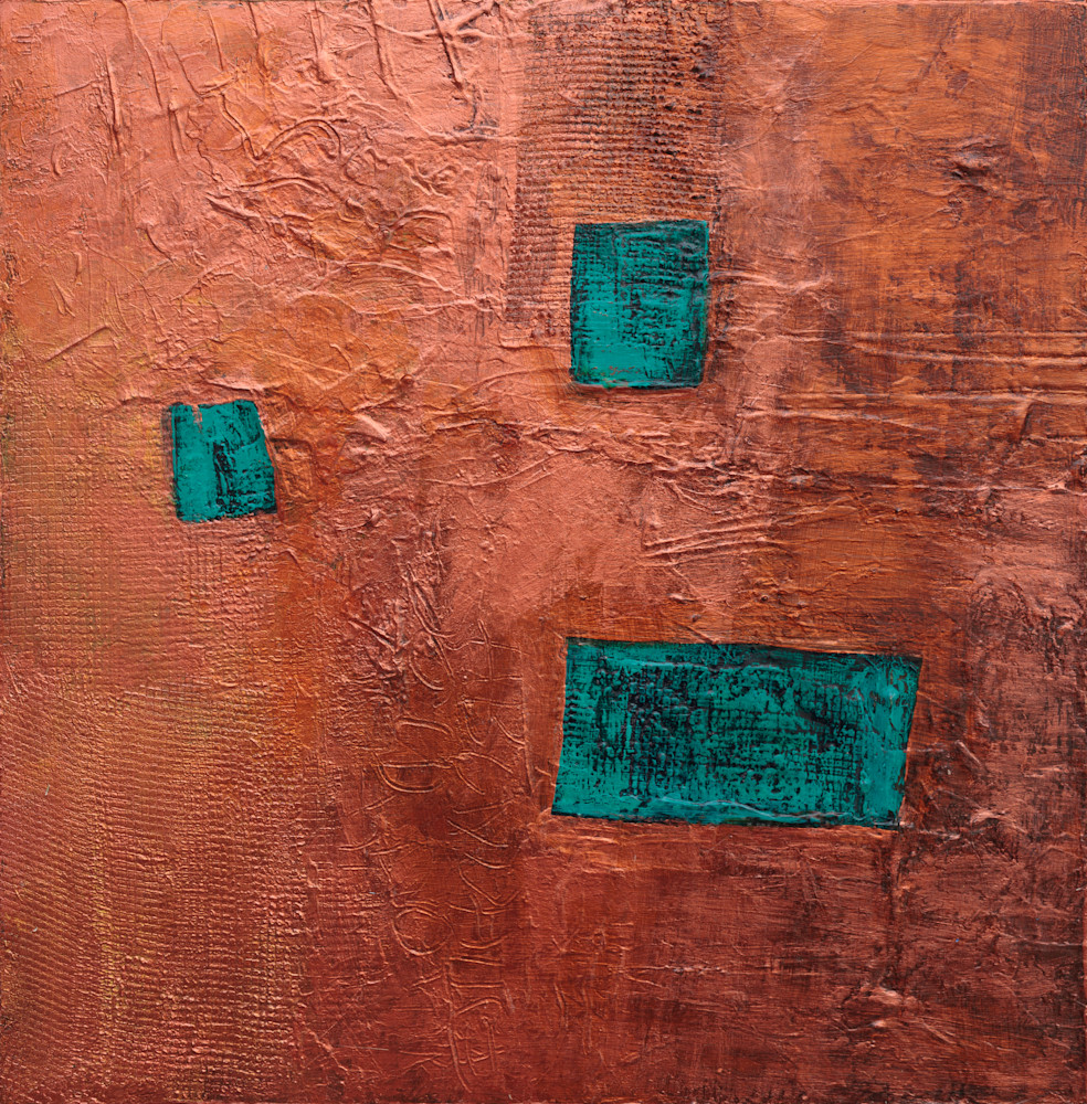 Tracy Lynn Pristas Western Artwork  Ghost Dance Textured Abstract