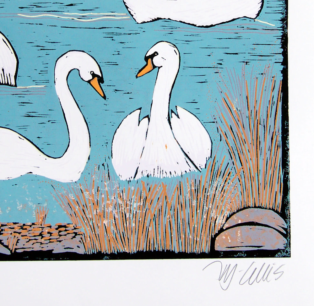 Swans Morning signature