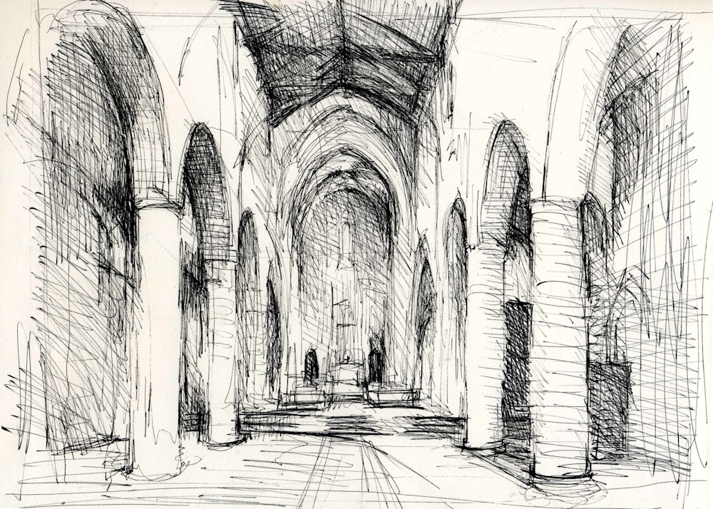 San Giovenale drawing