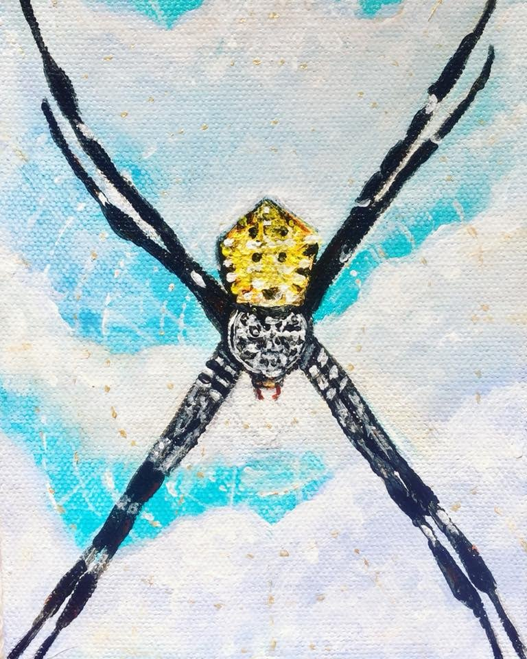 Brighter Orb Weaver
