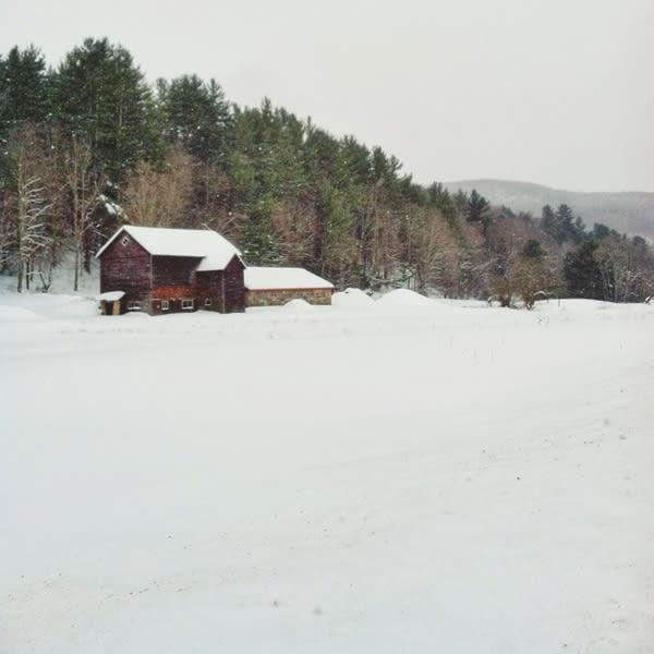 Claryville Winter Barn Image