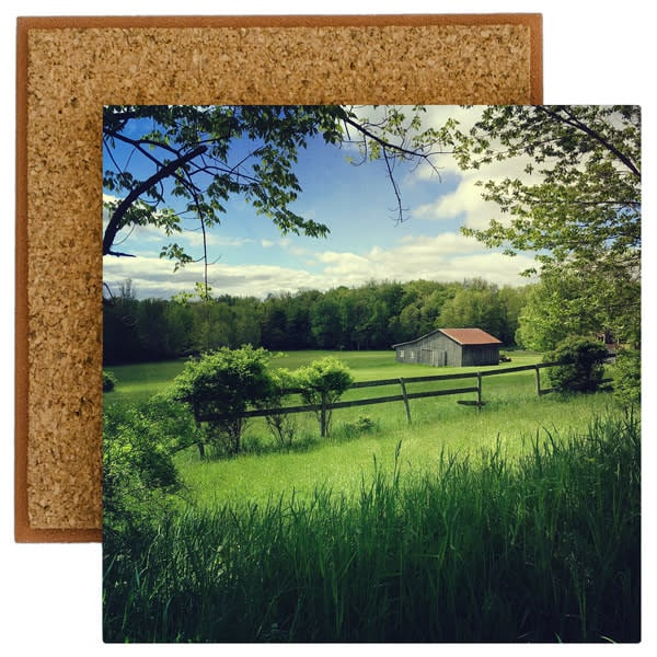 Barn In The Dell Photo Tile