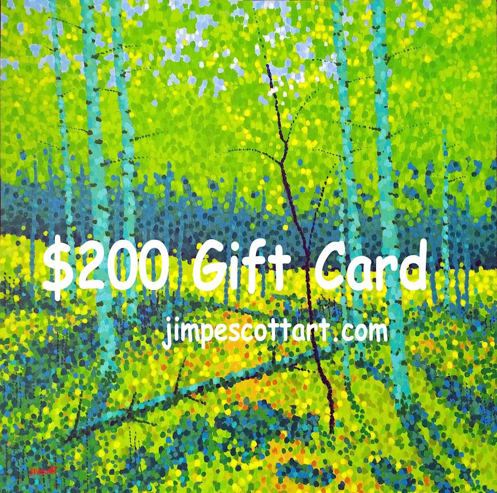 Gift Card 200A