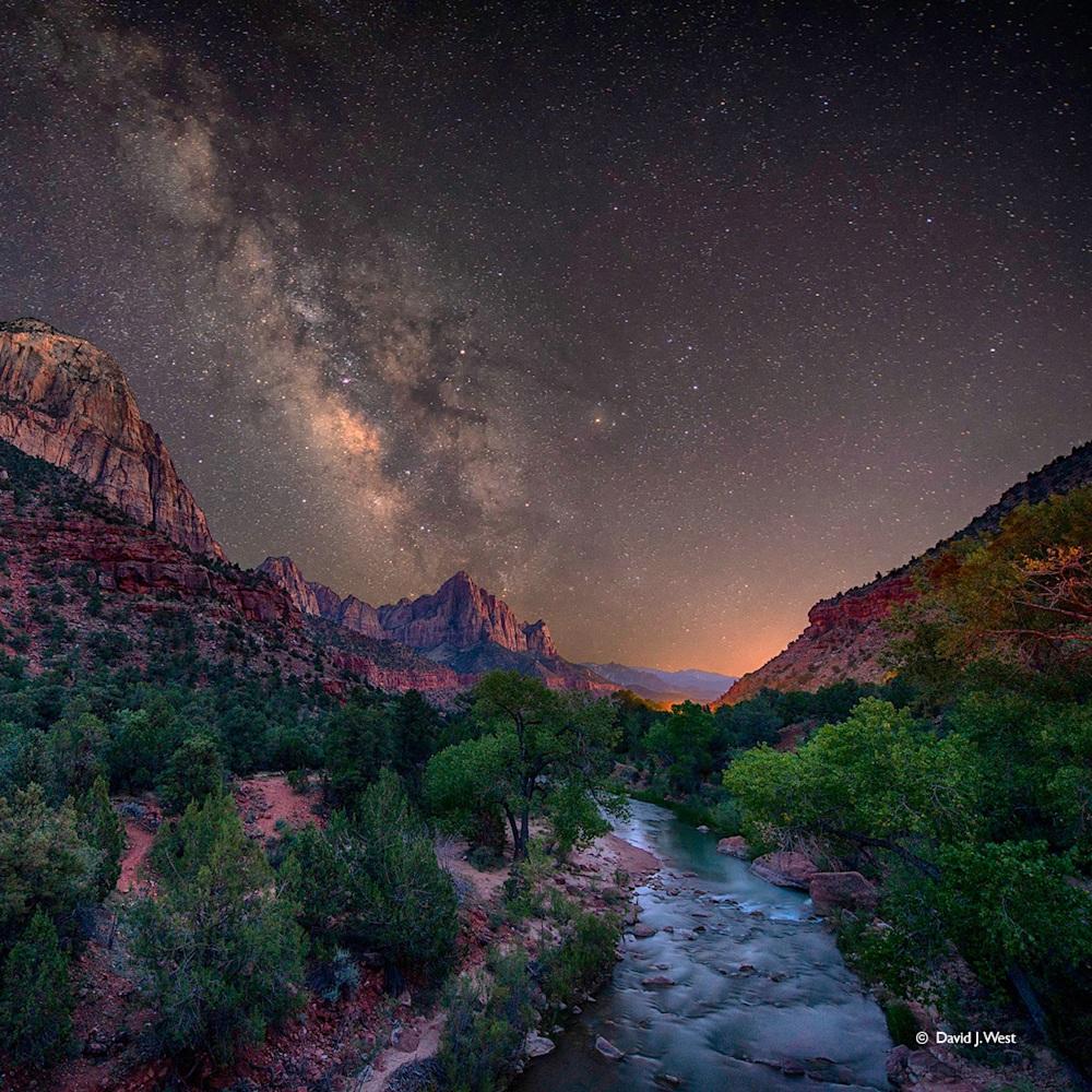 starry night 12x12 davidjwest