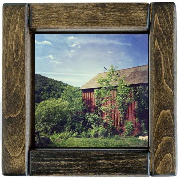 weather vane barn framed