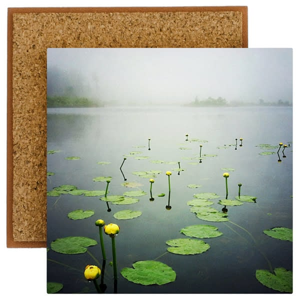 Water Lilies Photo Tile