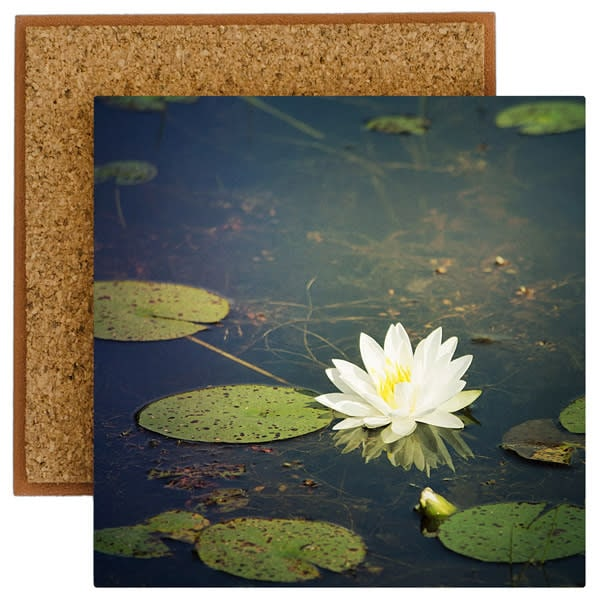 Water Lily Blossom Photo Tile