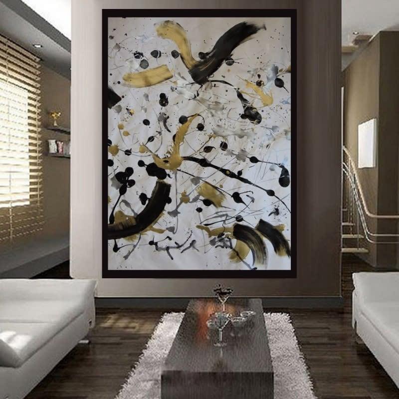 Positive Flow staged tan beige room Lesley Koenig