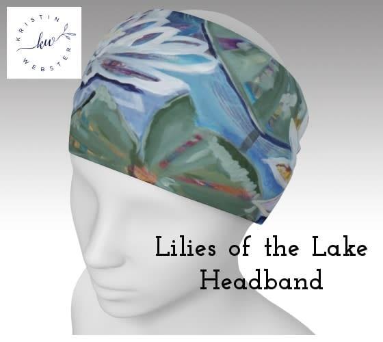 Lilies of the Lake Headband