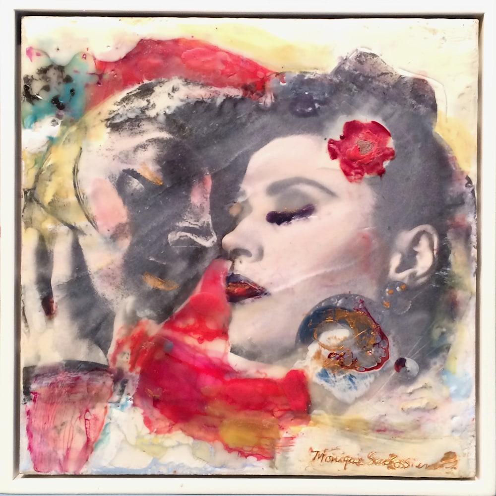 Love Conquers 18 frame Encaustic Wax an