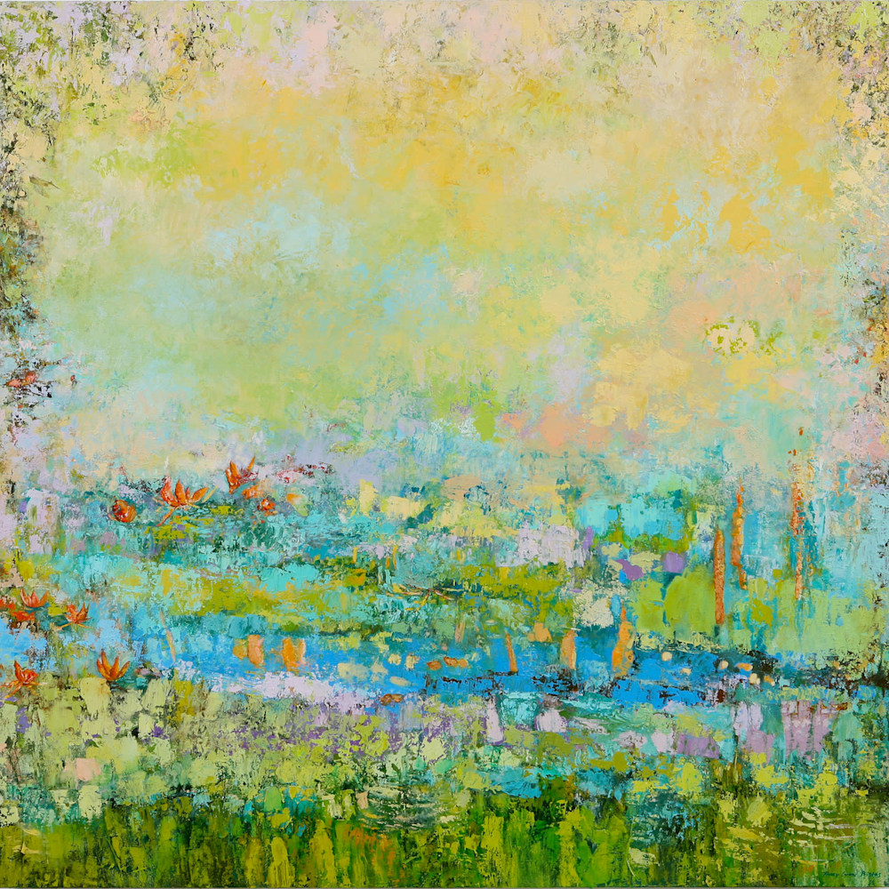 SOLD Paintings by Tracy Lynn Pristas Floating Secret Wishes