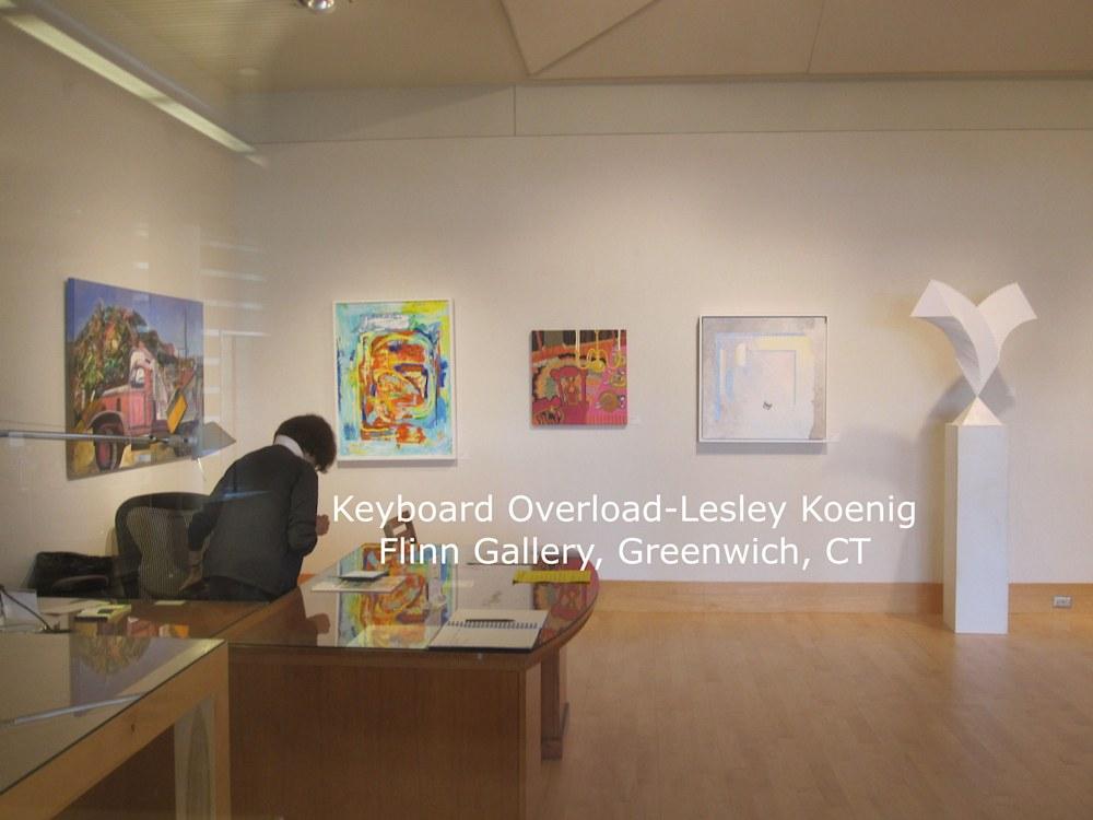 Keyboard Overload gallery info Lesley Koenig
